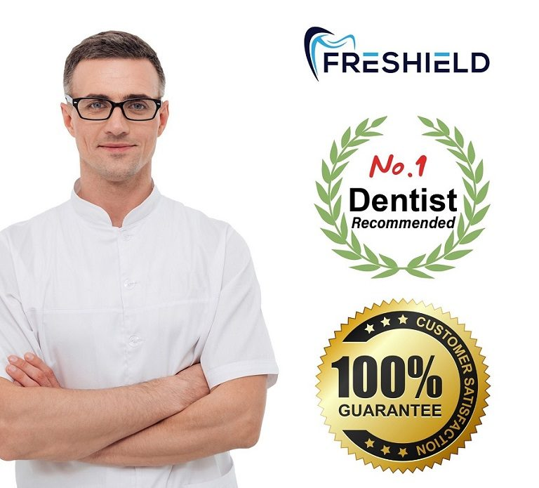 Freshield Retainer Cleaning Tablet _dentist recommended